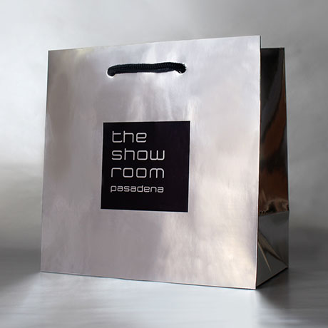 The Showroom Pasadena Brand Identity and Packaging Design